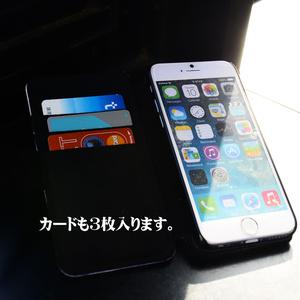 手帳型iPhoneケース「橙」