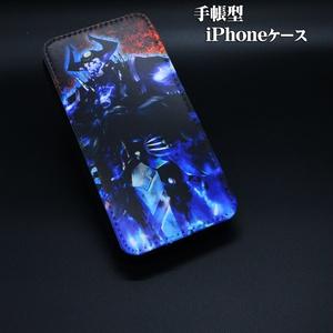 手帳型iPhoneケース「山の翁」