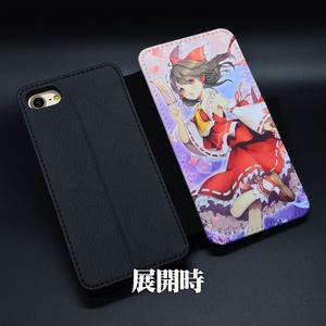 手帳型スマホケース「博麗霊夢ver2」