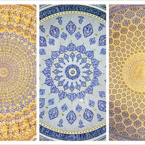 ポストカード/イスラム建築天井