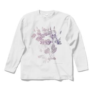 """gravvvity ロングスリーブTシャツ """"flower"""""""