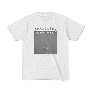 """gravvvity カラーTシャツ """"cover"""""""