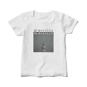 "gravvvity レディースTシャツ ""cover"""