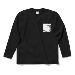 """二人の生活 ロングスリーブTシャツ """"Painter_Logo"""""""