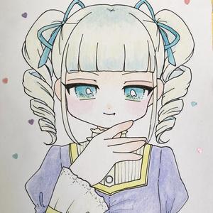 色紙 藤堂ユリカ(版権)