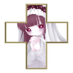 十字架アクキー