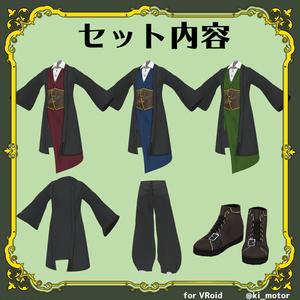 和風スチームパンクな衣装【#VRoid】
