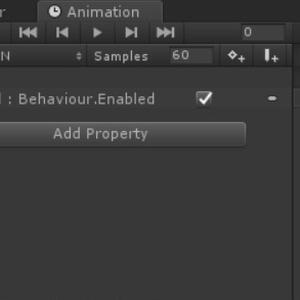 AnimatorをON,OFFするAnimationClip