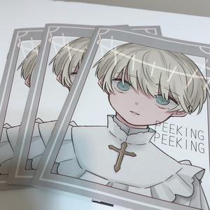 新刊イラスト本「peekingpeeking」