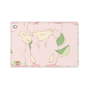 【羊セミレザーパスケース】ぎゅぎゅっと!