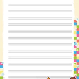 【アイカツ!】五線紙セット