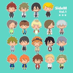 【アイドルマスターSideM】まめシール20種 ①