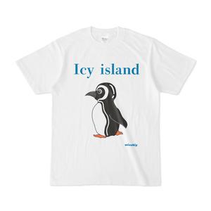 半袖Tシャツ ホワイト  Icy island ペンギン14109708