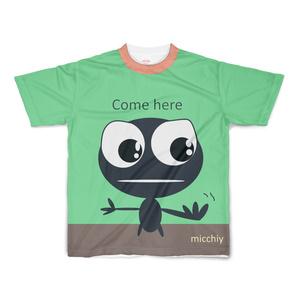 半袖Tシャツ グリーン come here 14223859
