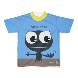半袖Tシャツ come here ブルー 14224469