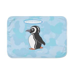 ブランケット ブルー ペンギン14335089