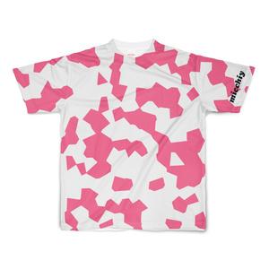 半袖Tシャツ 斑模様ピンク 14336028