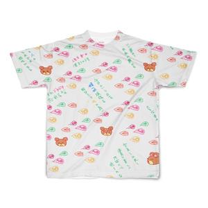 半袖Tシャツ ホワイト 応援メッセージクマ 14341792
