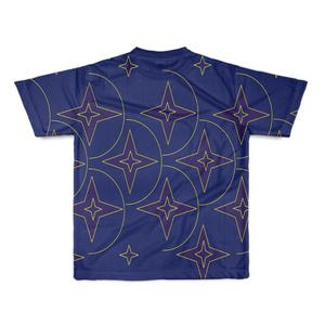 半袖Tシャツ ブルー  キング