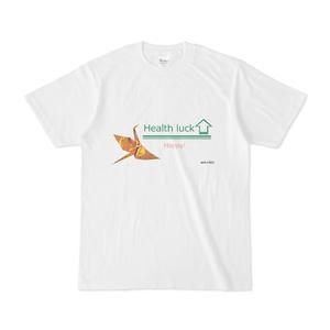 オリジナルTシャツ半袖 ホワイト 鶴 14342513