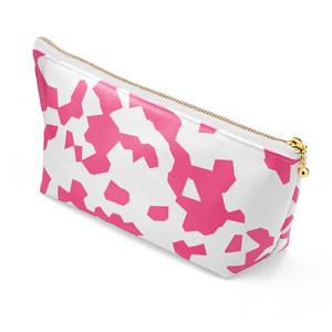コスメポ―チ 斑ピンク