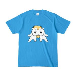 [すこぶる動くちびウサギ]Tシャツ