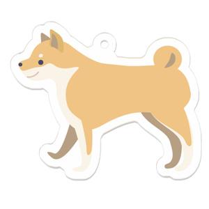 【柴犬】アクリルキーホルダー
