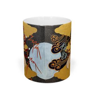 風神雷神図マグカップ