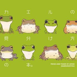 カエルの見分け方の本