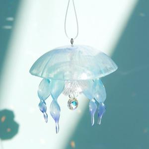 青空ミズクラゲのサンキャッチャー