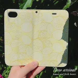 [SALE]ピンク-手帳型iPhoneカバー(6/6s/7用)