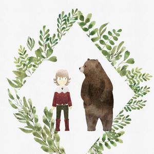 バーナビーがクマを倒して食べる本