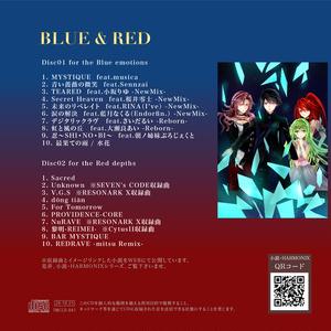 BLUE&RED(CD+ハイレゾダウンロード)
