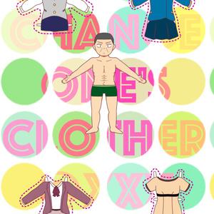 Change One's Clothes @xxx【月島さん女装ギャグ本】