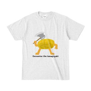 たまごやきとのたたかい Tシャツ