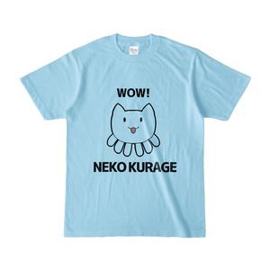 ねこくらげTシャツ - カラー