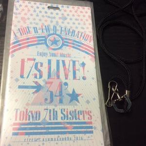 t7s LIVE チケットホルダー