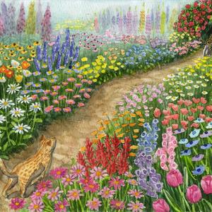 ミニ絵本 プイプイと庭のトンネル