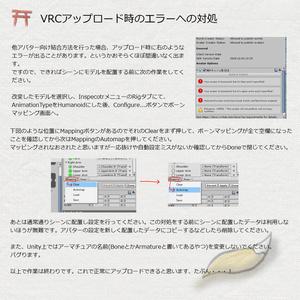 MikokoModel向け3Dデータ「例のセーター+MikokoModel改変素体」スキニング済み