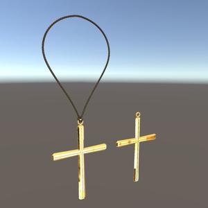 3Dアクセサリ「Cross」