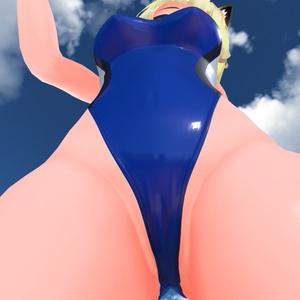 3D衣装「競泳水着 -Swimsuits-」【キッシュ用素体向け】