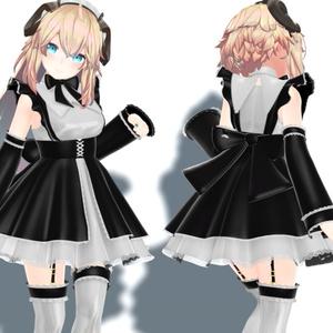 3D衣装「メイド服1」for Merino(メリノ) 【Ver.1.01】