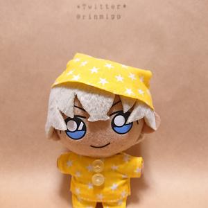 黄色星柄パジャマセット