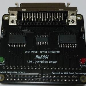 RaSCSIレベルコンバーターシールド(変換基板)