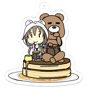 ホットケーキとくまちゃん