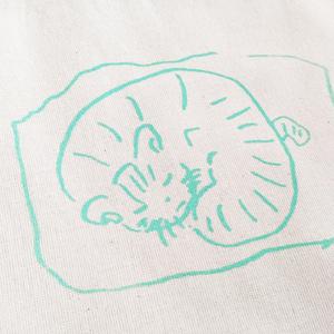 「現在の我が家の猫です.」バッグ