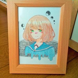 【原画】セーラー少女