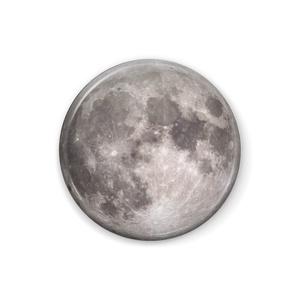 缶バッジ丸型:満月