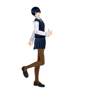 【Vroid】男性用ミニスカート(無料版あり)