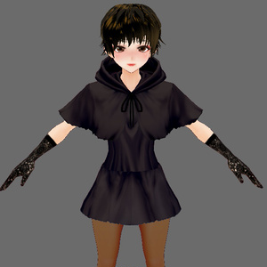 【Vroid】魔女っ娘セット(男女兼用)